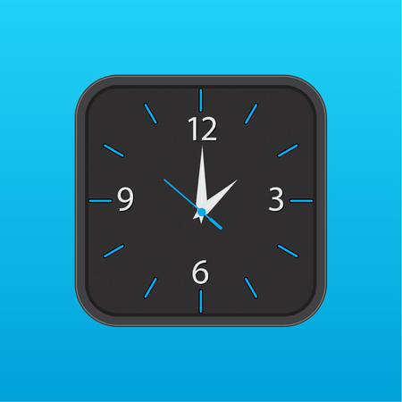 wall clock vector icon Çizim