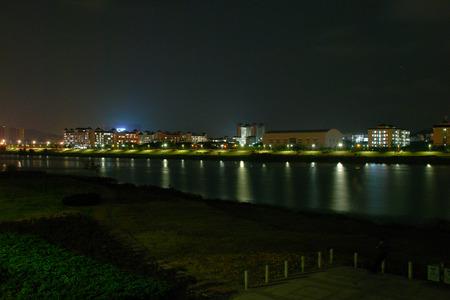 beck: Night view Stock Photo