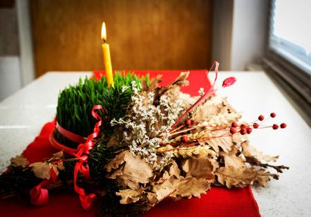 Noël orthodoxe Banque d'images - 35123121
