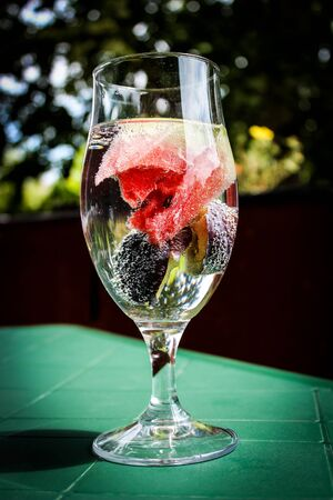 infused: Fruit infused water