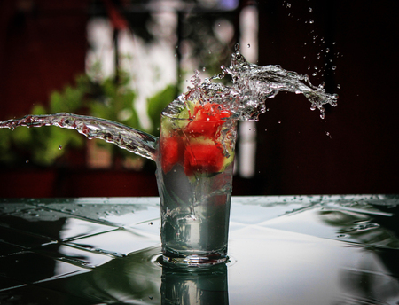 splash of water: Splash Stock Photo