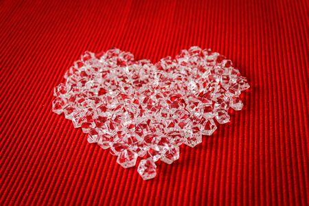 crystal heart: Crystal heart