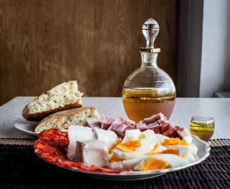 serbia: Breakfast in Serbia