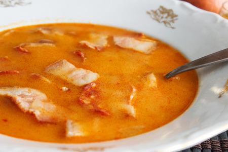serbian: Serbian bean soup