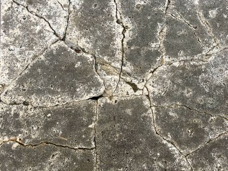 cracked cement: Cracked cement background