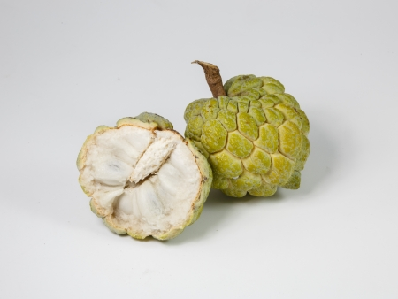 custard apple: Custard apple, Fresh Fruit Stock Photo