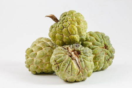 custard apple fruit: Custard apple, Fresh Fruit Stock Photo