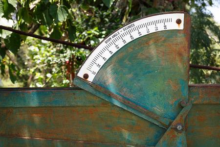 deg: The old boom angle degrees