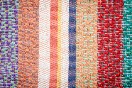 hand woven: hand woven cloth background texture Stock Photo