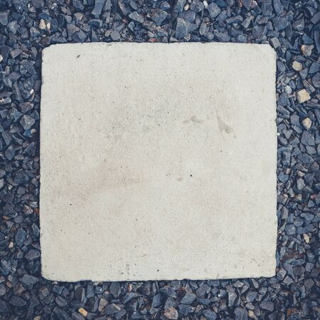 hinder: Cement sheets with stone leaguer background, vintage color