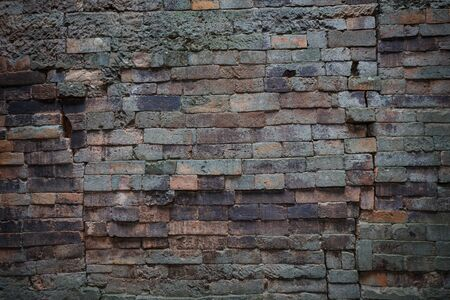 hinder: The old Brick wall background texture Stock Photo