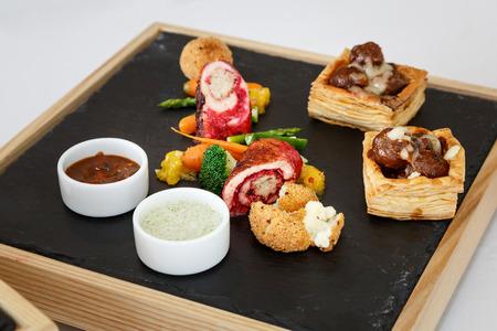 shrimp cocktail: Tasty Cocktail food or appetizer food for banquet
