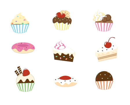 cakes and pastries: sweet cake collection