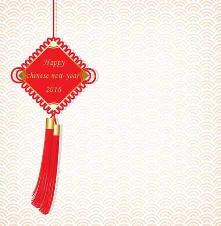 chinese new year card: chinese new year greeting card Illustration