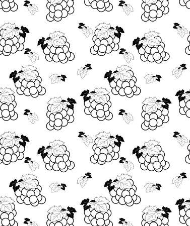 fruit Seamless Patterns Illustration