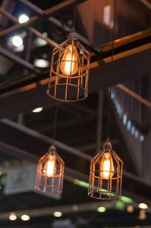 lamp light: Lamp light in the shop