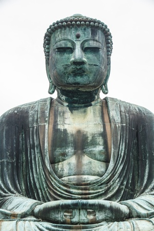 Buddha daibutsu of Kotoku-in Temple, Kamakura City, Metro Tokyo, Japan  photo