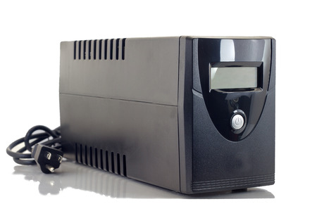 a power: Uninterruptible Power Supply (UPS) on a white background.