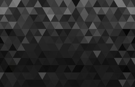 Abstract geometry triangle black and gray background.vector_