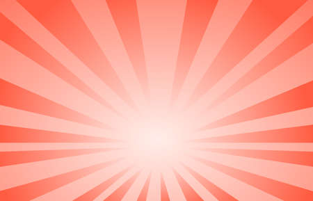 red abstract line  background Cartoon Style. Big Boom  or Sunlight vector illustration. 矢量图像