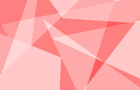 red and pink abstract geometric background modern design on light vector illustration.