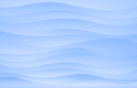 blue Wavy and  waves abstract  background vector .Interior wall decoration.interior wall panel pattern.