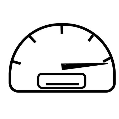 full speed speedometer icon