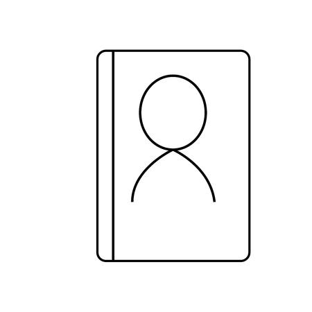 pad: Phone book icon
