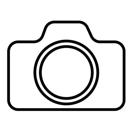 simple frame: Camera, image, photo, photography, photos icon