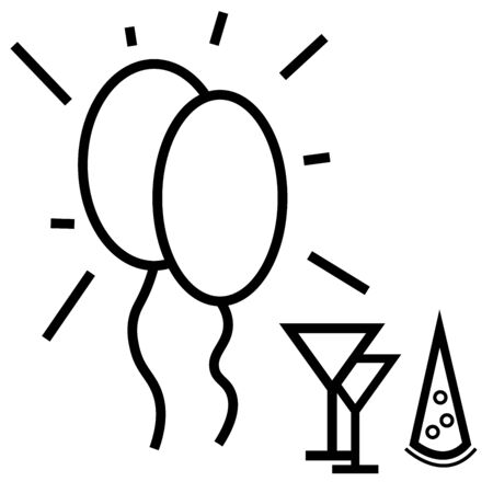 newyear: Party icon
