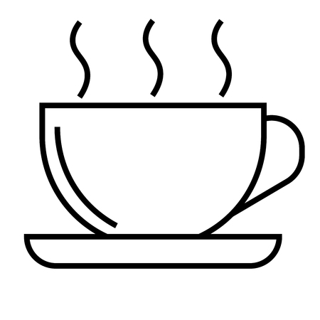 Coffee icon vector illustration.