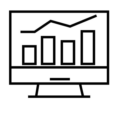pictograph: Stats icon