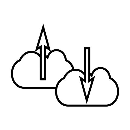 Cloud computing icoon