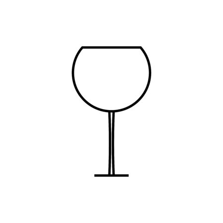 dinner party: wineglass icon