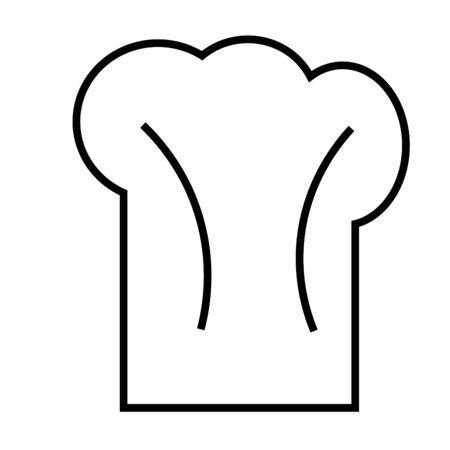 chef hat icon Illustration