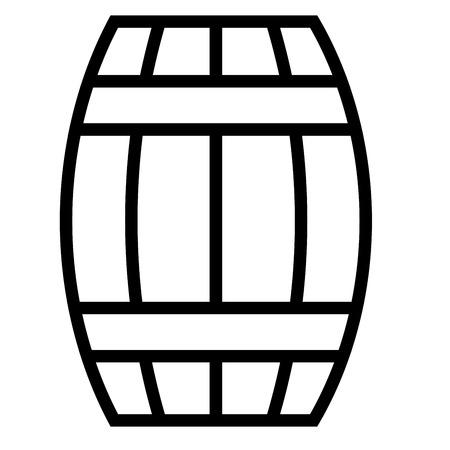 barrel icon Vettoriali