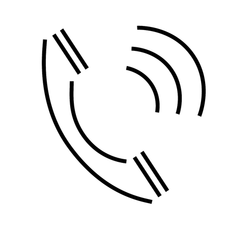 loud speaker: Phone call icon Illustration