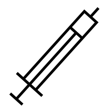 dosage: Drug, medicine, syringe icon