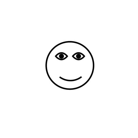 smiley: smile emotion icon Illustration