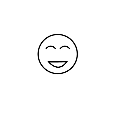 too happy emotion icon