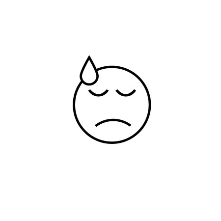 hard rain: too hard emotion icon