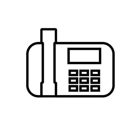 telephone icon Illustration