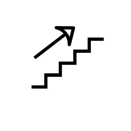 upstairs: stairs up icon