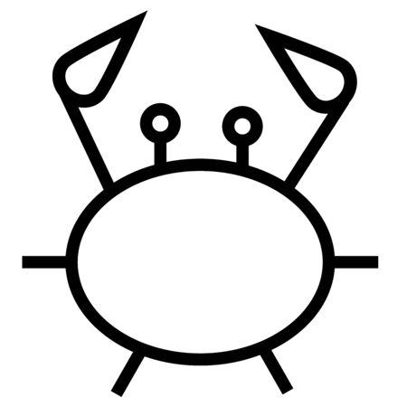 fried shrimp: crab icon
