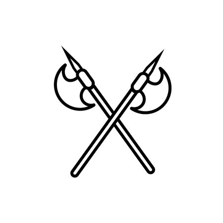 axes icon Illustration