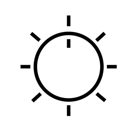 volume knob: volume control button Illustration