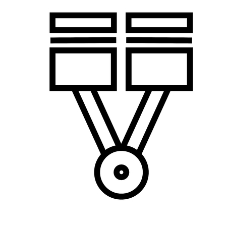 scruffy: piston icon