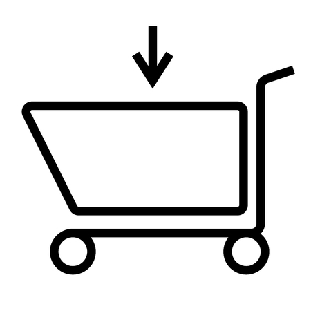 caddie: Caddie, shop, shopping icon
