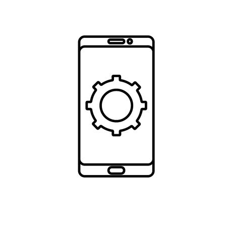 configuration: mobile configuration icon
