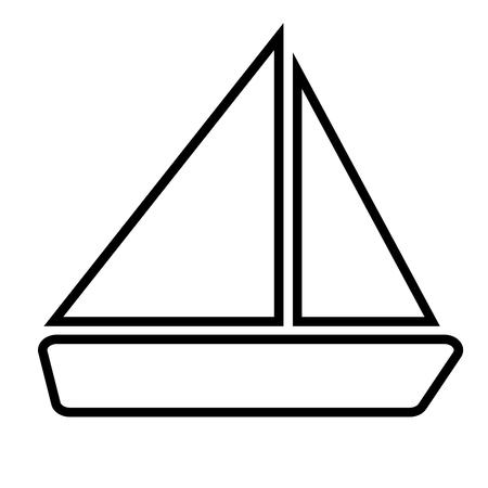 Boat icon 일러스트